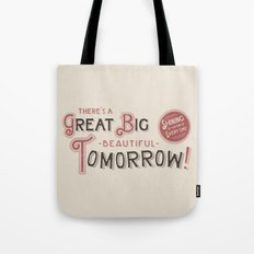 Great Big, Beautiful Tomorrow Tote Bag