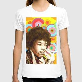 Jimi Hendrix (Peace & Love) T-shirt