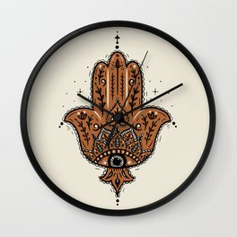 Hamsa Hand Wall Clock