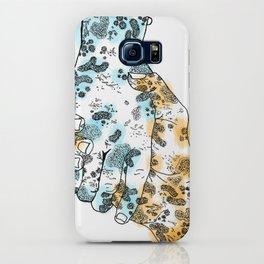 Microscopic Handshake iPhone Case
