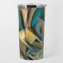 Cubism Painting Travel Mug