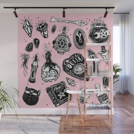 Witchy Wall Mural