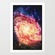 The Galaxy - for iphone Art Print