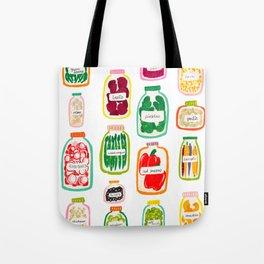 Jars of Fruit & Veg Tote Bag