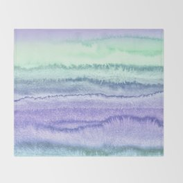 WITHIN THE TIDES - SPRING MERMAID Throw Blanket