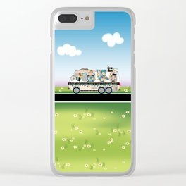 Quiltmobile Clear iPhone Case
