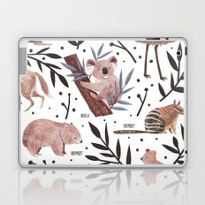 Animals of Australia Field Guide Laptop & iPad Skin