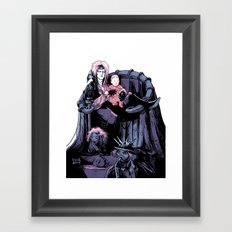 King Jareth Framed Art Print