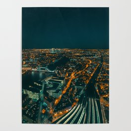 East London from above Poster