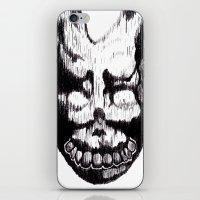 donnie darko iPhone & iPod Skins featuring Donnie Darko Frank by Froleyboy