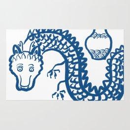 The Dragon Who Escaped Rug