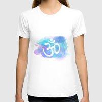 om T-shirts featuring Om by Ashley Hillman