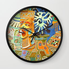 Memory of Maya Wall Clock