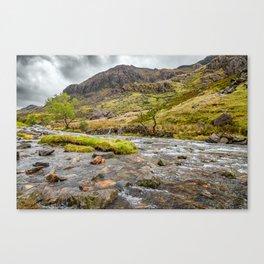 Llanberis Pass Snowdonia Canvas Print