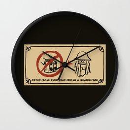 Metal Beard's Rule 1 Wall Clock