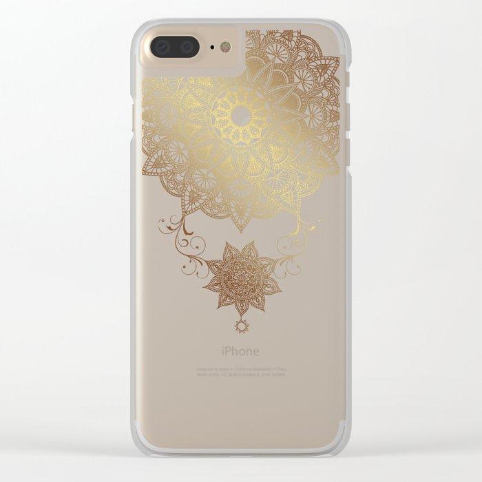 Golden drop Clear iPhone Case
