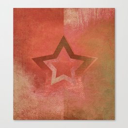 Suprematist Star VII Canvas Print