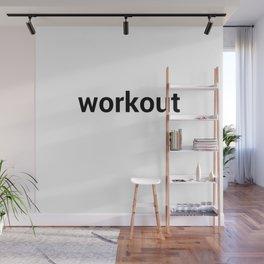 workout Wall Mural