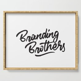 Branding Brothers Serving Tray