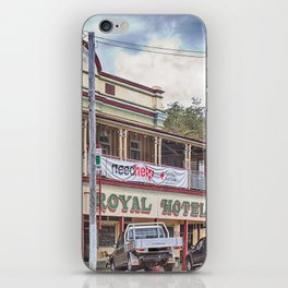 The old Country Pub iPhone Skin