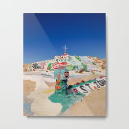 The colorful mountain Metal Print