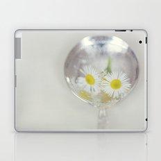 Vintage Spoon and White Flower Laptop & iPad Skin