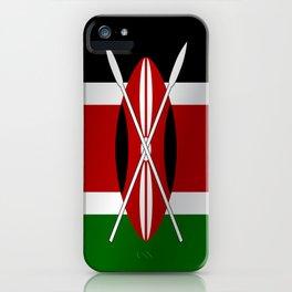 Flag of Kenya iPhone Case