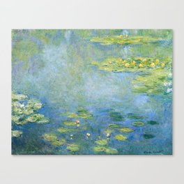 Water Lilies 1906 by Claude Monet Canvas Print