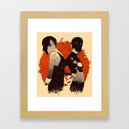 Human Nature Framed Art Print