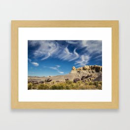 New Mexico Sky Framed Art Print