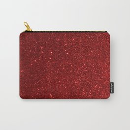 Garnet January Aquarius Birthstone Shimmering Glitter Carry-All Pouch
