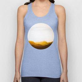 Sepia Sunset Unisex Tank Top