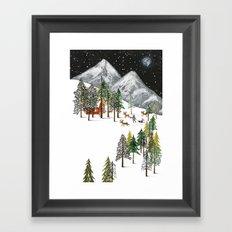 Winter Adventure Framed Art Print