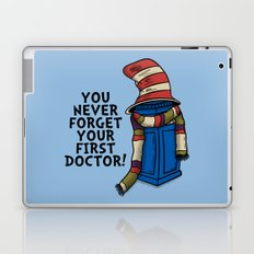 Blue Box in the Hat Laptop & iPad Skin