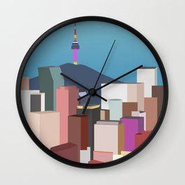 Seoul City Art Wall Clock