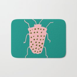 arthropod teal Bath Mat