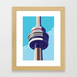 CN Tower - Toronto Framed Art Print