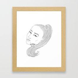 I-G-G-Y Framed Art Print