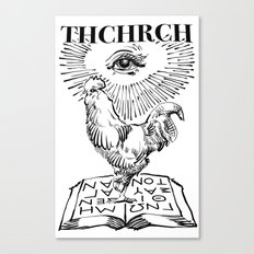 thchrch rooster Canvas Print