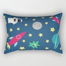 Space Objective Rectangular Pillow