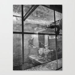 Window reflection Canvas Print