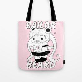 Sailor Beard Tote Bag