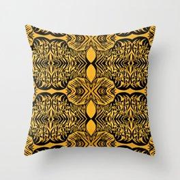 African rhythms Throw Pillow
