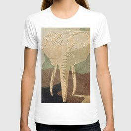 Elephant in the Jungle Camouflage T-shirt