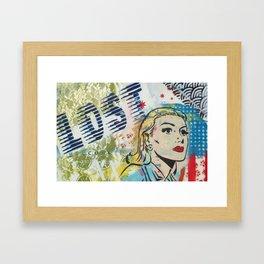 Running Colors  Framed Art Print