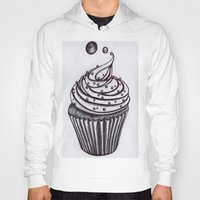 cupcake Hoodies featuring Cupcake by AGalaxyWithin