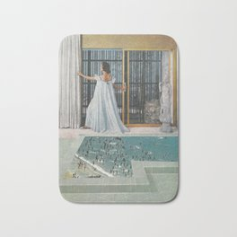 Powder Room Beach Bath Mat