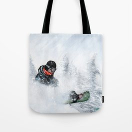 Travis Rice #2 Tote Bag