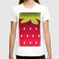 strawberry T-shirts featuring Strawberry by Kakel