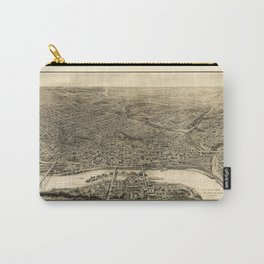 Aerial View of Saint Paul, Minnesota (1906) Carry-All Pouch